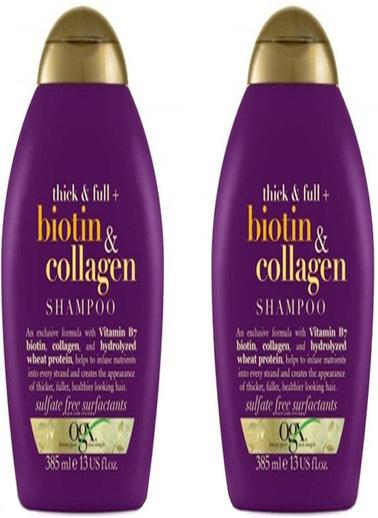 Organix Ogx Biotin & Collagen Şampuan 385 ml x 2 Adet Renksiz